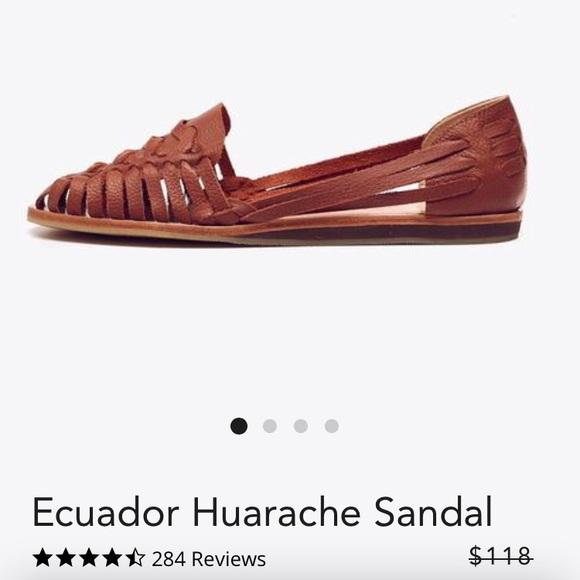 07fd58c25f32 Nisolo Ecuador Huarache Sandal. M 5a89fc68077b97145e11f141